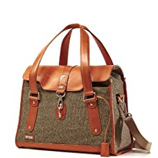 Hartmann Tweed Belting Carriage Bag