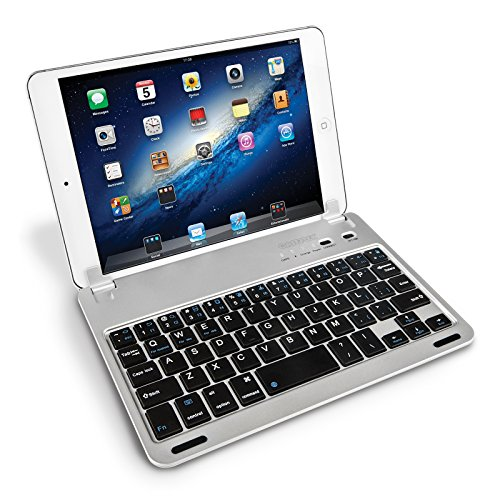 Caseflex Ultra Thin iPad Mini Bluetooth Keyboard  With Magnetic Grip, Adjustable Holding Stand For iPad Mini, Mini 2 & Mini 3 (Ipad Mini 3 Keyboard Cover compare prices)