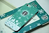 スターバックス  STARBUCKS  iPhone5 用 ケース  セイレーン ウインターバージョン グリーン