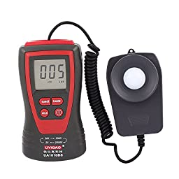 uxcell 20,000 Digital Lux Meter Luminometer Photometer Accuracy LCD Display