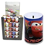 Disney Cars 5/8h X 3/8w Tin Money Bank (Color May Vary)