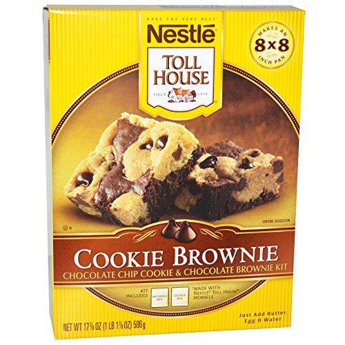 Pack) Nestle, Toll House, Cookie Brownie Mix, 17.8 Oz. Food ...
