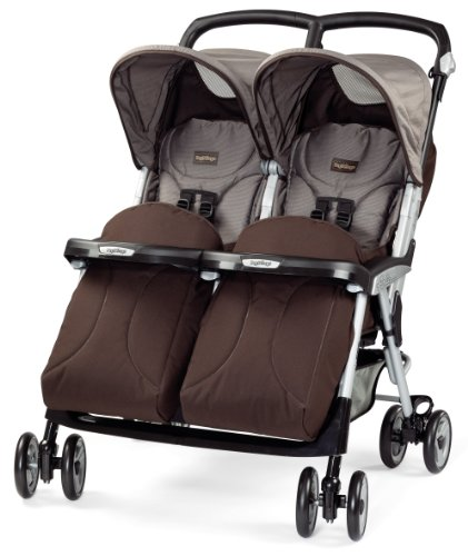 Peg Perego Aria Twin Chocolat 2014 back-976399
