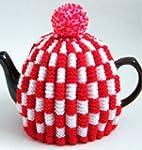 Tea Cosy Red & White Check Retro for...