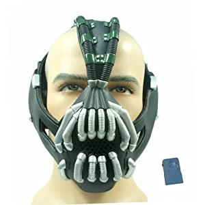 Bane Mask Voice changer TDKR Mask Costume Batman - New Version Xcoser