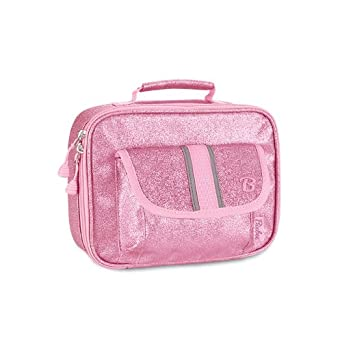 Bixbee Little Girls'  Sparkalicious Lunchbox, Pink, One Size