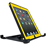 OtterBox Defender Series Case Screen Protector and Stand for iPad 2/3/4th - Yellow/Black Hornet