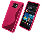 Peach S Wave TPU Silicone Skin Case Cover for Samsung Galaxy S2 i9100 SII S II