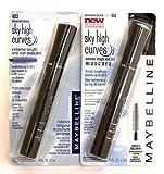 2 x Maybelline Sky High Curves Brownish Black - 402