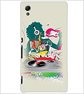 PrintDhaba Abstract Design D-3044 Back Case Cover for SONY XPERIA Z4 (Multi-Coloured)