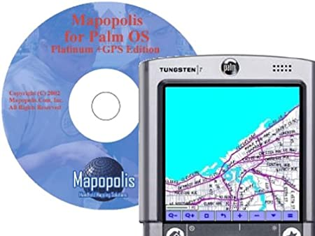 Mapopolis MapPack for Palm OS
