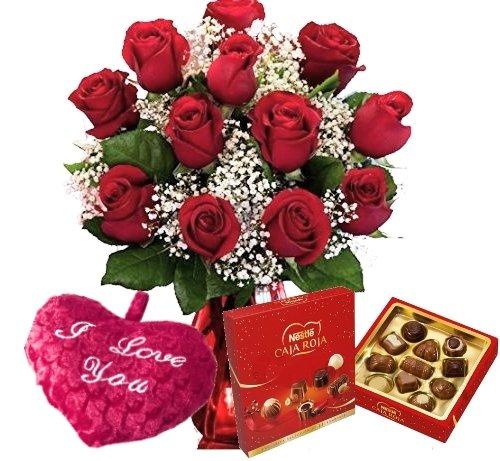 pack-san-valentin-ramo-de-12-rosas-rojas-naturales-frescas-bombones-de-regalo-caja-roja-nestle-100g-