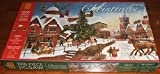 THE LAST COACH. LIMITED EDITION CHRISTMAS 2003 WH SMITH 1000 PIECE PANORAMIC JIGSAW PUZZLE.