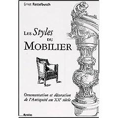 Les styles du mobilier