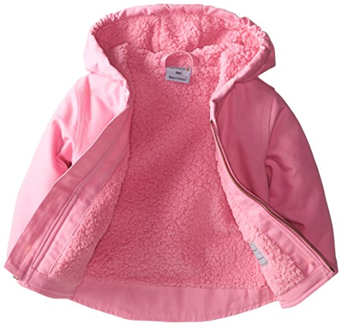 Carhartt Baby Girls Redwood Jacket Sherpa Lined Pink 12