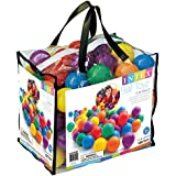 "Intex Fun Ballz - 100 Multi-Colored 3 1/8"" Plastic Balls, for Ages 2+"