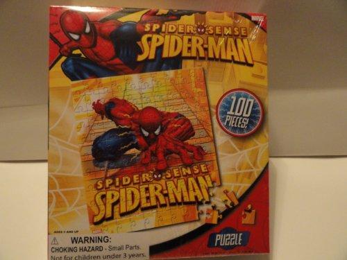 Spider-man Spider Sense 100 Piece Puzzle
