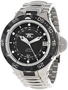 Invicta Men's 12872 Subaqua Noma V Automatic Black Dial Two Tone Stainless Steel Watch