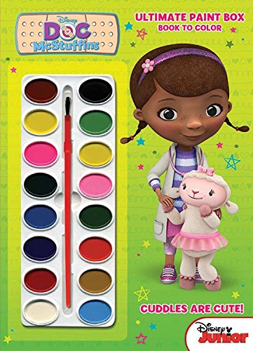 Bendon Publishing Doc McStuffins Ultimate Paint Box Coloring and Activity Book