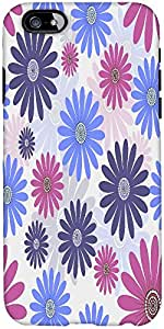 Snoogg Seamless Floral Pattern Abstract Background Designer Protective Back C...