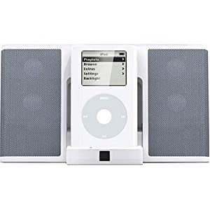 Altec Lansing inMotion iM3C Portable Audio System for iPod (White)