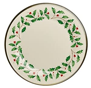 sc 1 st  Cheap dinnerware & Lenox Holiday Gold Banded Ivory China Dinner Plate