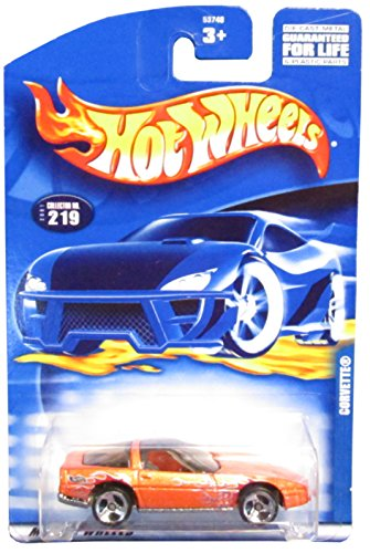 #2001-219 Corvette 3-Spoke Wheels Collectible Collector Car Mattel Hot Wheels
