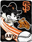 SAN FRANCISCO GIANTS MLB MICKEY MICRO RASCHEL (46IN X 60IN)