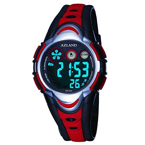 azland-waterproof-swimming-led-digital-sports-watches-for-children-kids-girls-boysrubber-strapred