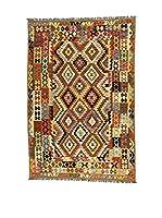 Eden Carpets Alfombra Kilimp-Vegetale Marrón/Multicolor 298 x 197 cm