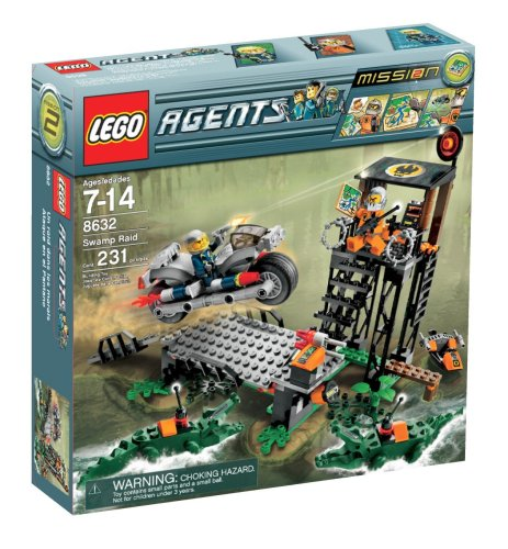 LEGO Agents Swamp Raid Amazon.com
