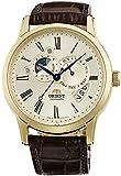 [オリエント]ORIENT 腕時計  WORLD  STAGE  COLLECTION  ワールドステージコレクション SUN&MOON  ORIENT65周年モデル 機械式 自動巻き WV0361ET シャンパンゴールド WV0361ET