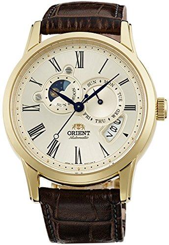 [オリエント]ORIENT 腕時計  WORLD  STAGE  COLLECTION  ワールドステージコレクション SUN&MOON  ORIENT65周年モデル 機械式 自動巻き  シャンパンゴールド (SET0T005Y0) WV0361ET