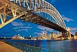 2016ピース ジグソーパズル パズルの超達人 ハーバーブリッジ夜景 オーストラリア ベリースモールピース(50x75cm)