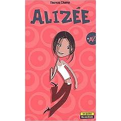 Alizée de A à Z - (Livre - Pas de partitions)