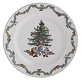 Spode Disney Christmas Tree Celebration Service Plate