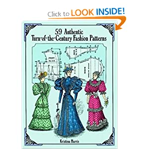 59 Authentic Turn-of-the-Century Fashion Patterns [Paperback]