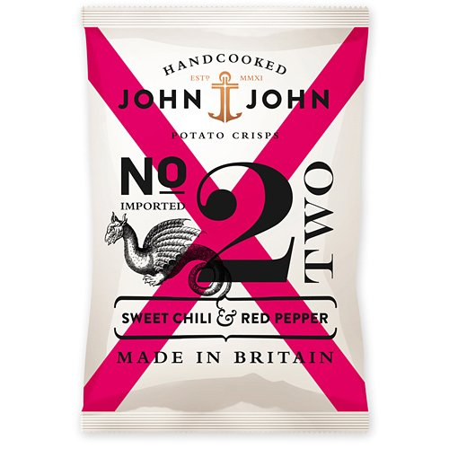 John &amp; John Nr. 2 - Sweet Chili &amp; Red Pepper 40g