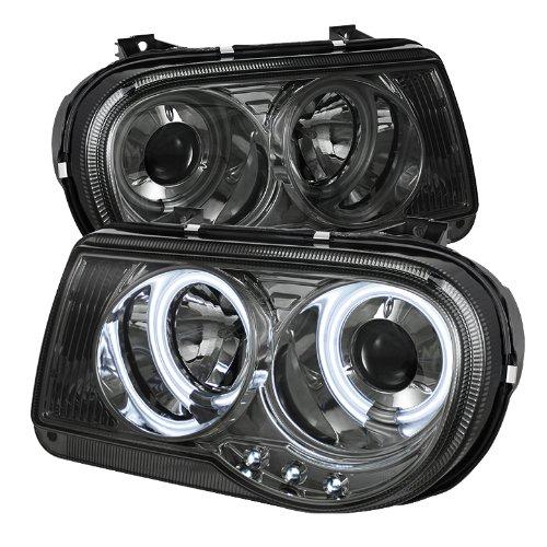 Spyder Auto Pro-Yd-C300C-Ccfl-Sm Chrysler 300C Smoke Ccfl Led Projector Headlight With Replaceable Leds