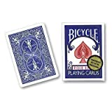 Bicycle Playing Cards, Gold Standard, Poker Size (Blue Back)by Bicycle