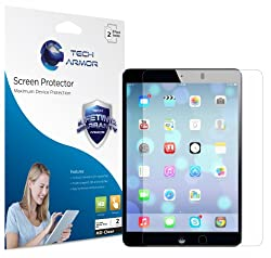 Tech Armor Apple iPad Air (Generation 5) Premium High Definition (HD) Clear Screen Protector with Lifetime Replacement Warranty [2-PACK] - Retail Packaging