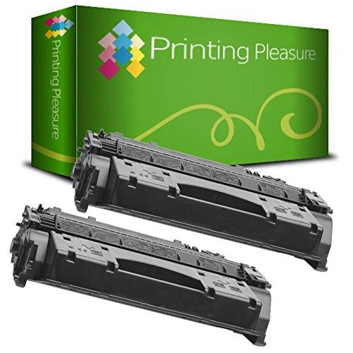 2pz x CF280X / 80X Toner Compatibile Nero per HP Laserjet Pro 400 M401A, M401D, M401DN, M401DNE, M401DW, M401N, MFP M425DN, MFP M425DW