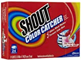 Shout Color Catcher Washer Sheets, 24 ct-2 pack