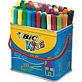 BIC Kids Visa Pack de 84 Feutres de Coloriage