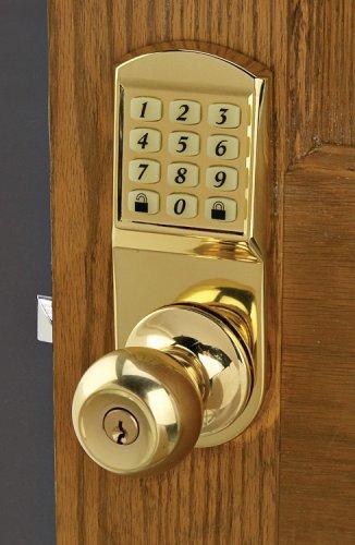 Door Knob Keyless Entry System - Security Camera
