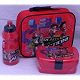 """Disney Pixar Toy Story: """"Ready For Action"""" Insulated School Lunch Set Bag with Sandwich Box and Bottle"""
