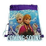 Disney Frozen Non Woven Nylon Sling Bag with Hangtag - 14 X 11