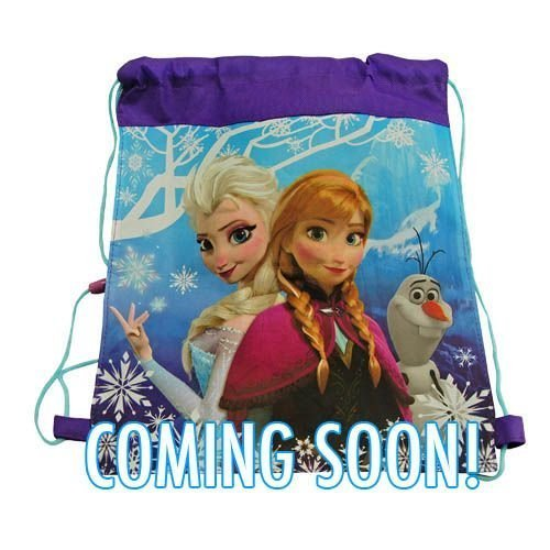 "Disney Frozen Non Woven Nylon Sling Bag with Hangtag - 14"" X 11"""