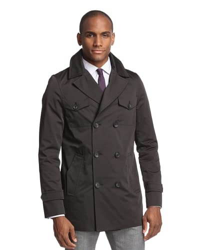 Soia & Kyo Men's Antonio Classic Trench with Notch Collar, Water Resistant