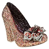 Irregular Choice Womens Ic Lola Antique Rose Court High Heels